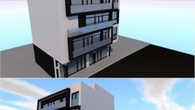 იყიდება ან ქირავდება 1000 m² ფართობის კომერციული ფართი საბურთალოზე
