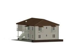 იყიდება 2 სართულიანი სახლი, შავი კარკასის მდგომარეობაში, კოჯორი, ვაშლოვანის უბანში,  ლამაზი ხედებითა და ბუნებით