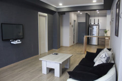 Immediately !! For sale, in Bagebi, in ecologically clean place, in new building, newly renovated .This very bright studio apartment with two full bedrooms
