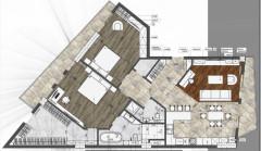 Продается 140 кв.м. Квартира на ул. Бочоришвили