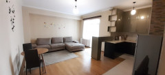 For rent, 2 room, studio type apartment, in Saburtalo, on Shankhai, close to the. Apartment is equipped with all necessary furniture and appliances