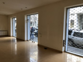 Commercial space for rent in Vake. The spaces have large stained glass windows. The amount does not include income tax.