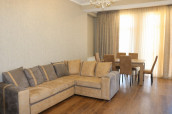 Rent a newly renovated apartment in Vake, very quiet place where there is ecologically clean air. In both bedrooms there is a conditioner, one bedroom has a bathroom and a wardrobe room. The beautiful views of Tbilisi are falling apart from Tbilisi.