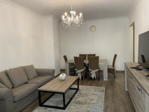 In prestigious district of Tbilisi Vake, on Kipshidze STR, apartment for rent. Apartment is newly renovated with 3 bedrooms, 2 WC and 3 balconies.  The apartment is provided with necessary furniture and appliances and is very comfortable.