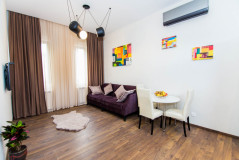 Kiralık 50 m² Apartman Dairesi in Sh.Dadiani st.
