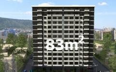 Продается 83 кв.м. Квартира на ул. Бочоришвили
