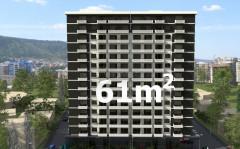 Продается 61 кв.м. Квартира на ул. Бочоришвили
