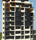 Urgently! 3 room apartment for sale in Dolidze str. In the new building. The apartment is white framed, with metal door, 2 balconies, stretched floors, electricity, stained-glass windows with best view.