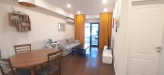 Продается на улице Цхведадзе 58 кв.м. 2-комнатная квартира с 1 спальней, 1 ванной, 12 кв.м. С балконом. Полностью изолирован от городского шума. В квартире остается встроенная техника и мебель.