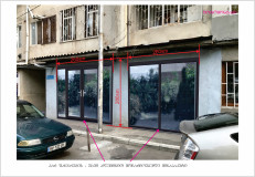 For Rent 125 sq.m. Commercial space in Al. Kazbegi Ave.