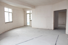 Apartment for sale in Vake, behind the Carefour hipermarket on Abuladze str. The condition is a white frame. Apartment is provided with electricity and  bathrooms are equipped with plumbing. The kitchen type - separated.